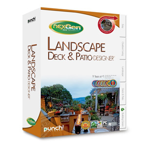 Punch! Landscape, Deck, & Patio Designer with NexGen Technology