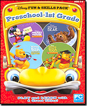 Disney Fun & Skills Preschool - 1st Grade