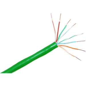 ClearLinks 1000FT Cat. 5E 350MHZ Stranded Green PVC UTP Bulk - Category 5e - 1000ft - Bare Copper - Bulk - Stranded - Green