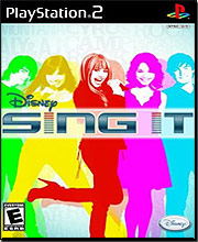 Disney Sing It (Playstation 2)