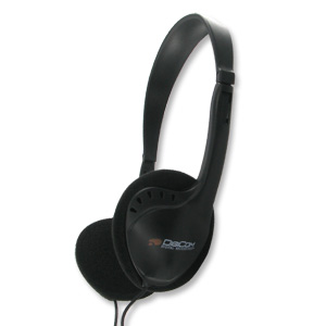 Digicom IP-203 Digital Stereo Sound Self-Adjusting Headphones (Small)