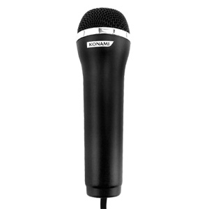 Official Konami USB Logitech Microphone - Black [PS2, PS3, XBOX 360, Wii]