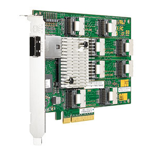 HP 468406-B21 24-port SAS RAID Controller - PCI Express - 600MBps - 8 x Mini-SAS SAS 600 - Serial Attached SCSI , 1 x Mini-SAS SAS 600 - Serial Attached SCSI