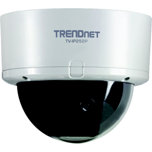 TRENDnet SecurView PoE Dome Internet Camera - Color - CMOS - Cable