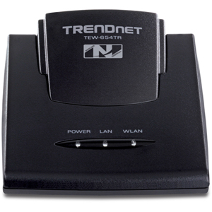 TRENDnet - 300Mbps Wireless N Travel Router Kit - 1 x 10/100Base-TX WAN - IEEE 802.11n (draft) - 300Mbps