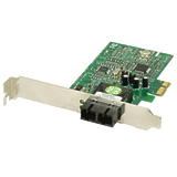 Transition Networks Fiber Gigabit Ethernet Network Interface Card - PCI Express - 1 x LC - 1000Base-SX - Internal - Low-profile