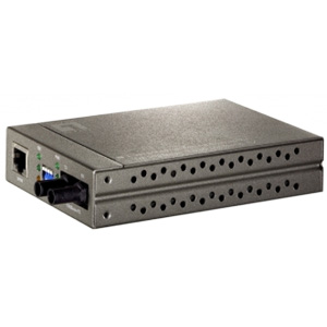 LevelOne FVT-4002 10/100 Based TX to 100FX MM/ST Media Converter - 1 x RJ-45 - 10/100Base-TX, 100Base-FX MM/ST