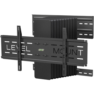 Level Mount DC65MCL Motorized Full Motion Wall Mount - 200 lb - Black