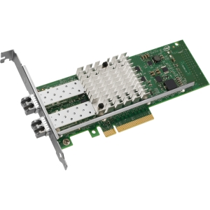Intel Ethernet Converged Network Adapter X520-SR2 - PCI Express x8 - 2 Port - 10GBase-SR - Internal - Full-height, Low-profile - Retail