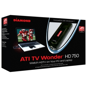 DIAMOND ATI Theater HD 750 USB TV Tuner - USB - PAL, ATSC, SECAM, DVB, NTSC