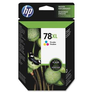 HP 78XL Tri-Color Ink Cartridge - Cyan, Magenta, Yellow - Inkjet - 1200 Page