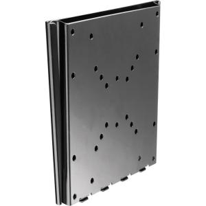 Telehook TH-2250-VF ultra-slim TV wall fixed mount VESA up to 8x8 (200x200mm) black - For Flat Panel Display - 20&quot; to 47&quot; Screen Support - 50 kg Load Capacity - Steel - Black