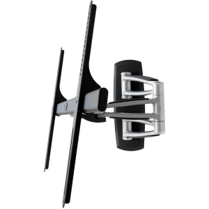 Atdec Telehook TH-3270-UFM universal VESA full motion TV mount silver with black - 42&quot; to 70&quot; Screen Support - 143.00 lb Load Capacity - Steel - Black, Silver