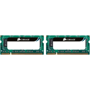 Corsair 8GB DDR3 SDRAM Memory Module - 8GB (2 x 4GB) - 1333MHz DDR3-1333/PC3-10600 - Non-ECC - DDR3 SDRAM - 204-pin SoDIMM