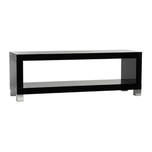 Moda Echo 50LE A/V Stand - Chrome, Black