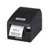 Citizen CT-S2000 Point Of Sale Thermal Label Printer - Monochrome - 220 mm/s Mono - 203 dpi - USB