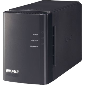 Buffalo LinkStation Duo Network Storage Server - 2 TB (2 x 1 TB) - RJ-45 Network, Type A USB