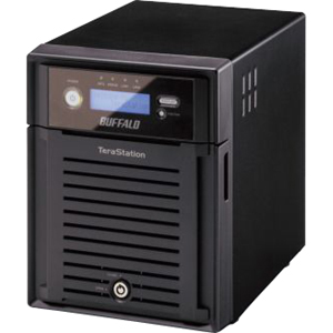 Buffalo TeraStation ES TS-XE8.0TL/R5 Hard Drive Array - 4 x HDD Installed - 8 TB Installed HDD Capacity - RAID Supported - 4 x Total Bays - Gigabit Ethernet - Network (RJ-45) - USB 2.0