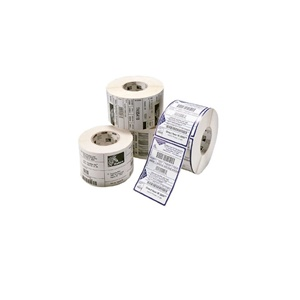 "Zebra Label Paper 2.375 x 1in Direct Thermal Zebra Z-Select 4000D 1 in core - 2.38"" Width x 1"" Length - 2340/Roll - 1"" Core - 6 / Carton - Bright White"