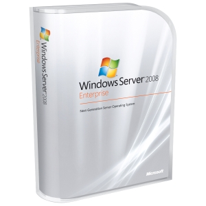HP Microsoft Windows Server 2008 Enterprise - License and Media - 1 Server, 10 CAL - PC