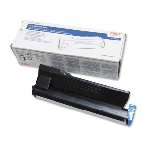Oki Toner Cartridge - Black - Laser - 12000 Page