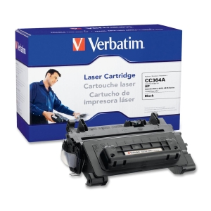 Verbatim HP CC364A Compatible Toner Cartridge - Black - Laser - 10000 Page - 1 / Pack