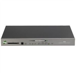 Digi Passport 32 Port Integrated Console Server - 32 x RJ-45 , 2 x RJ-45