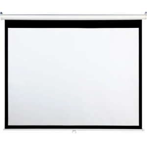 "Draper AccuScreen Manual Projection Screen - 59"" x 105"" - Matte White - 119"" Diagonal"