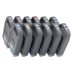 Canon PFI-702BK Ink Cartridge - Black - Inkjet