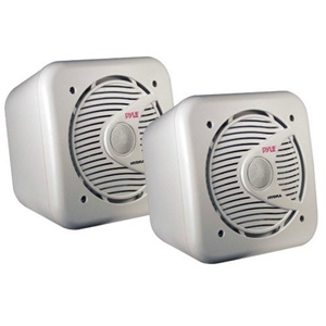 Pyle PLMR63 - 400 W PMPO Outdoor Speaker - 2-way - 2 Pack - 4 Ohm
