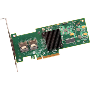 LSI Logic MegaRAID 9240-8i 8-port SAS RAID Controller - Serial Attached SCSI (SAS), Serial ATA/600 - PCI Express 2.0 x8 - Plug-in Card - RAID Supported - 0, 1, 5, 10, 50, JBOD RAID Level