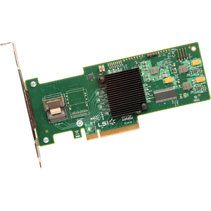 LSI Logic MegaRAID 9240-4I 4-port SAS RAID Controller - Serial Attached SCSI (SAS), Serial ATA/600 - PCI Express 2.0 x8 - Plug-in Card - RAID Supported - 0, 1, 5, 10, 50, JBOD RAID Level