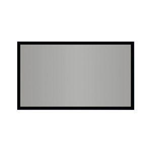 "AccuScreens SoundScreen Fixed Projection Screen - 45"" x 80"" - High Contrast Gray - 92"" Diagonal"