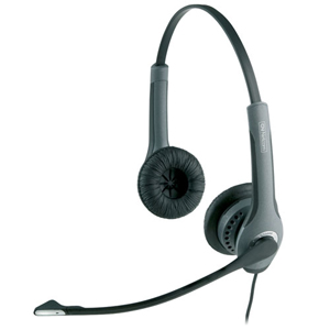 Jabra GN2000 GN 2025 IP Headset - Sub-mini phone - Wired - 150 Hz - 6.80 kHz - Over-the-head - Binaural