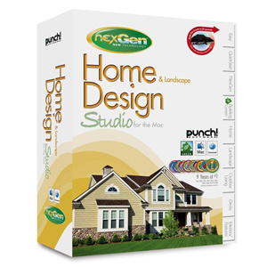 Punch! Home & Landscape Design Studio for the Mac with NexGen Technology