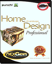 Punch! Home &amp; Landscape Design Professional