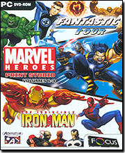 Marvel Heroes Print Studio Volumes 1-3 (DVD)