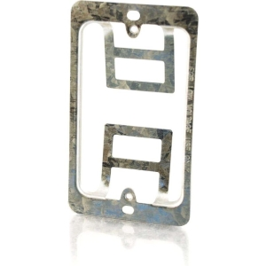 C2G Single Gang Wall Plate Mounting Bracket - Silver
