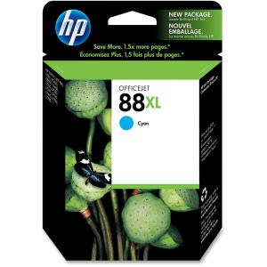 HP 88 Large Cyan Ink Cartridge - Cyan - Inkjet - 1200 Page Color