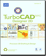 TurboCAD Mac Designer Version 4 - Precision 2D Drafting