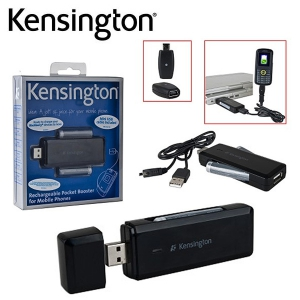 Kensington Rechargeable Pocket Booster for USB Mobile Phones - K38036US