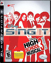 Disney Sing It: High School Musical 3 Senior Year (Playstation 3)