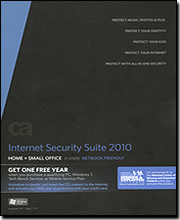 CA Internet Security Suite '10 Home & Small Office
