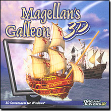 Magellan's Galleon 3D Screensaver