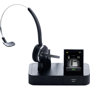 Jabra PRO 9470 Headset - Mono - Wireless - DECT - 450 ft - Over-the-head, Over-the-ear, Behind-the-neck - Monaural - Semi-open