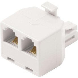 Steren BL-320-024WH Telephone Adapter - White