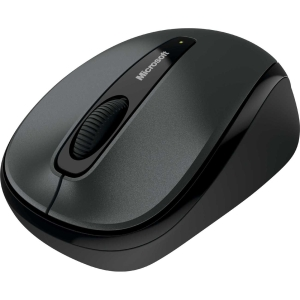 Microsoft 3500 Wireless Mobile Mouse - Wireless - Gray - USB