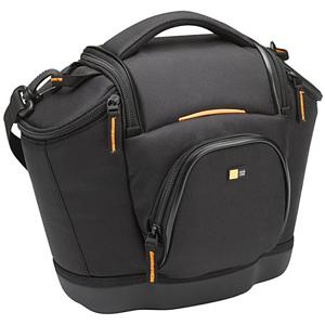 "Case Logic Medium SLR Camera Bag - 12"" x 9.5"" x 5"" - Nylon - Black"