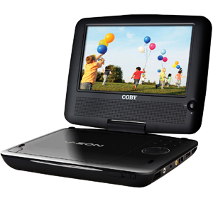 "Coby TFDVD7309 Portable DVD Player - 7"" Display - DVD+RW, DVD-RW, CD-RW - JPEG - DVD Video, XviD - 16:9 - MP3 - 1 x Headphone Port(s) - USB"
