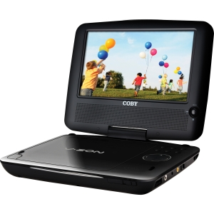 "Coby TFDVD1029 Portable DVD Player - 10.2"" Display - DVD-RW, DVD+RW, CD-RW - JPEG - DVD Video, MPEG-1, MPEG-2 - MP3 - Lithium Polymer"